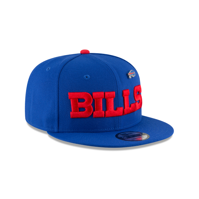 BUFFALO BILLS PINNED SNAP 9FIFTY SNAPBACK 3 quarter right view