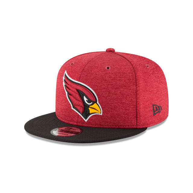 ARIZONA CARDINALS OFFICIAL SIDELINE HOME 9FIFTY SNAPBACK 3 quarter left view e4cb4abca27d