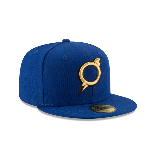 OMAHA STORM CHASERS AUTHENTIC COLLECTION 59FIFTY FITTED 3 quarter right view
