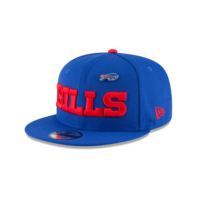BUFFALO BILLS PINNED SNAP 9FIFTY SNAPBACK 3 quarter left view