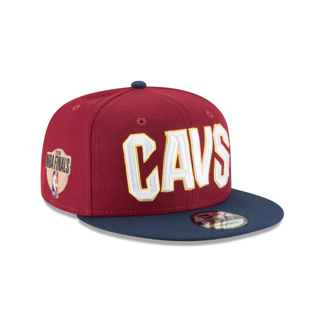 CLEVELAND CAVALIERS NBA FINALS TWO TONE 9FIFTY SNAPBACK 3 quarter right view