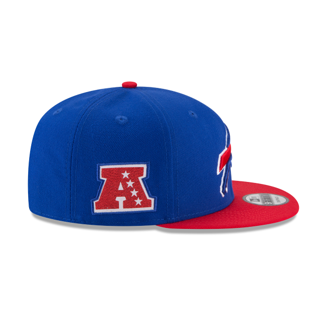 BUFFALO BILLS TEAM PATCHER 9FIFTY SNAPBACK Right side view