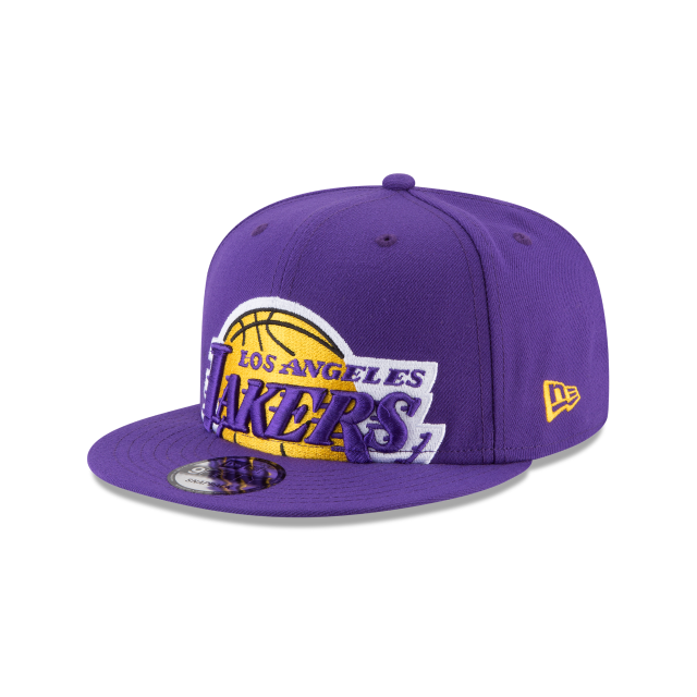 LOS ANGELES LAKERS Y2K BIG UNDER 9FIFTY SNAPBACK 3 quarter left view