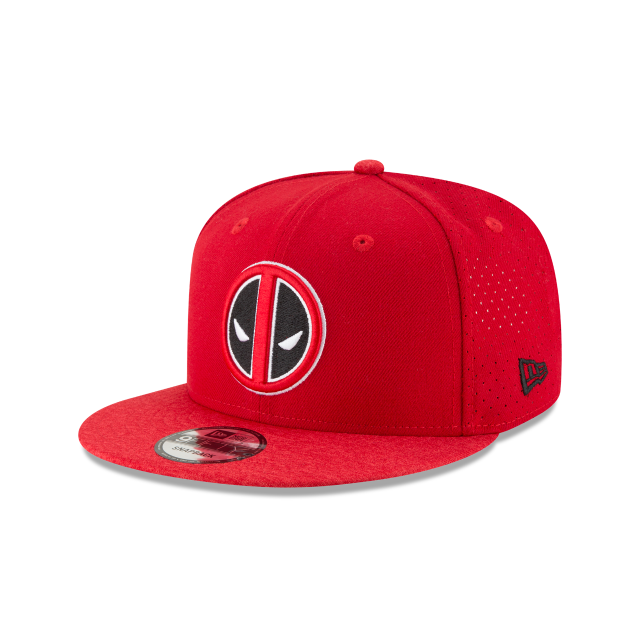 DEADPOOL PERFORATED 9FIFTY SNAPBACK 3 quarter left view