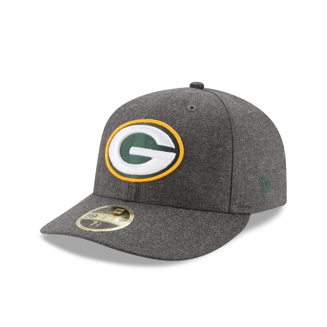 GREEN BAY PACKERS CRAFTED IN THE USA LOW PROFILE 59FIFTY FITTED 3 quarter left view