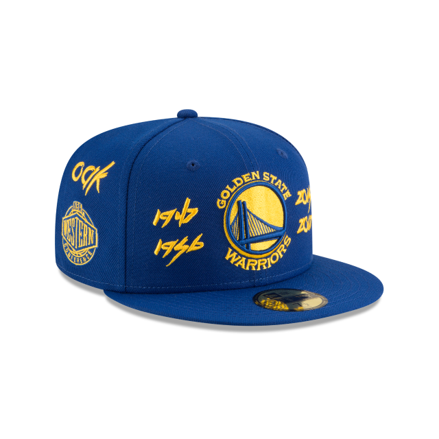 GOLDEN STATE WARRIORS TEAM ARCHIVE 59FIFTY FITTED  3 quarter right view