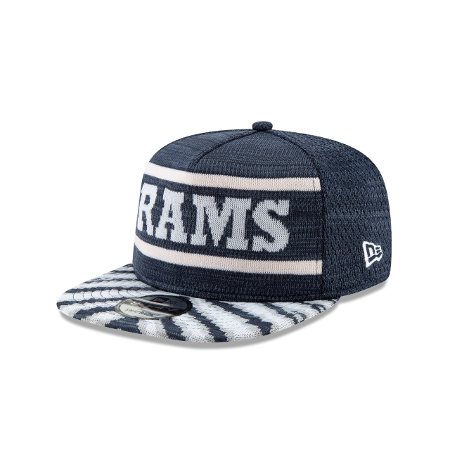 LOS ANGELES RAMS FRESH FRONT ZUBAZ 9FIFTY SNAPBACK 3 quarter left view