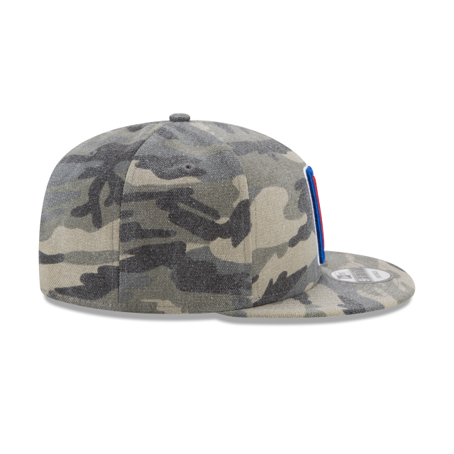 LOS ANGELES CLIPPERS CANVAS CAMO 9FIFTY SNAPBACK Right side view