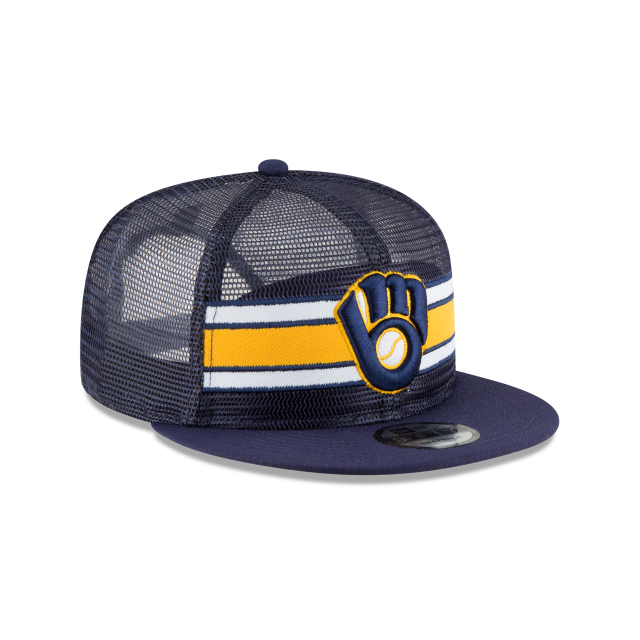 MILWAUKEE BREWERS MESH FRONTED 9FIFTY SNAPBACK 3 quarter right view