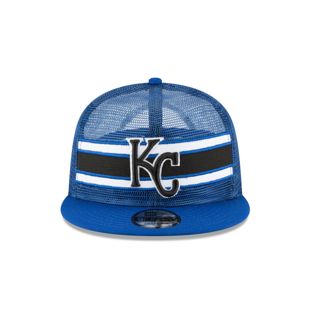 KANSAS CITY ROYALS MESH FRONTED 9FIFTY SNAPBACK Front view
