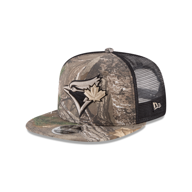 lowest price f9f96 f39de reduced toronto blue jays realtree xtra trucker 9fifty snapback 3 quarter  left view 5c994 c8bbf