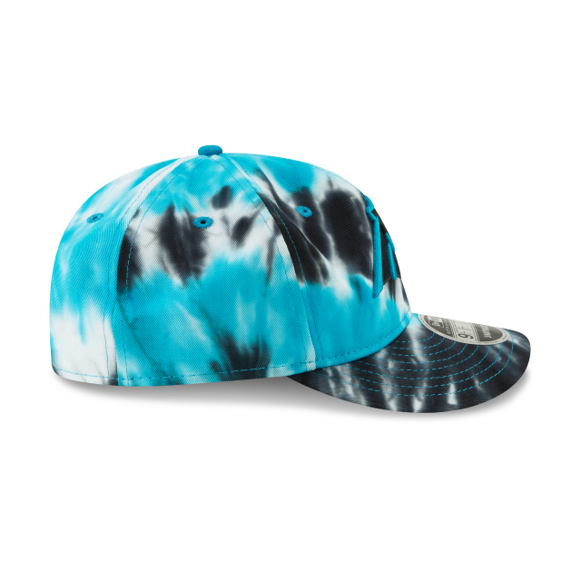 CAROLINA PANTHERS MARBLED RETRO CROWN 9FIFTY SNAPBACK Right side view