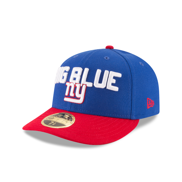 NEW YORK GIANTS SPOTLIGHT LOW PROFILE 59FIFTY FITTED 3 quarter left view f8852b2d81d