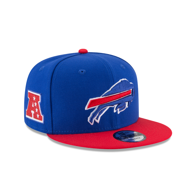 BUFFALO BILLS TEAM PATCHER 9FIFTY SNAPBACK 3 quarter right view