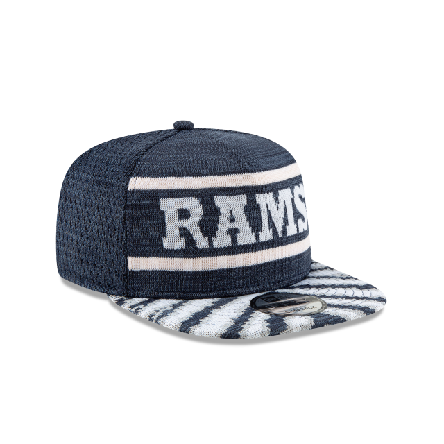 LOS ANGELES RAMS FRESH FRONT ZUBAZ 9FIFTY SNAPBACK 3 quarter right view