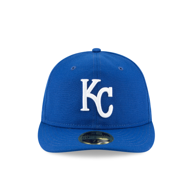 KANSAS CITY ROYALS FAN FIT RETRO CROWN 59FIFTY FITTED Front view