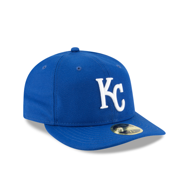 KANSAS CITY ROYALS FAN FIT RETRO CROWN 59FIFTY FITTED 3 quarter right view
