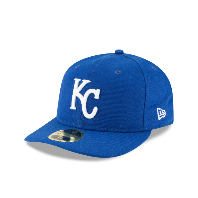 KANSAS CITY ROYALS FAN FIT RETRO CROWN 59FIFTY FITTED 3 quarter left view