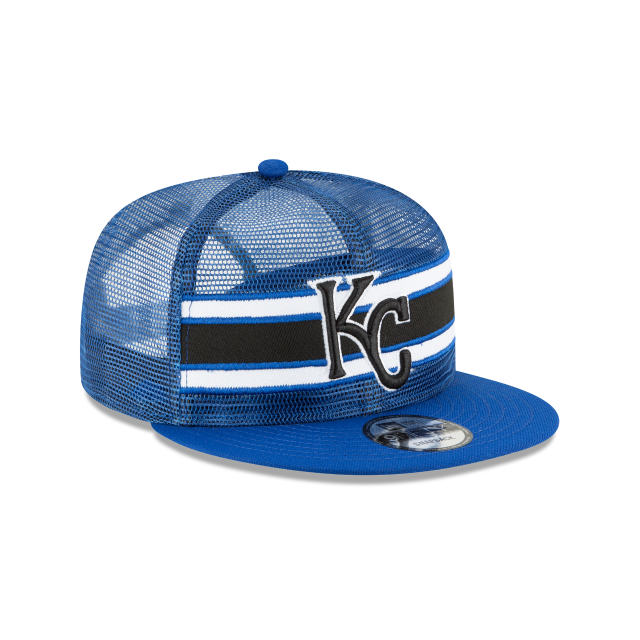 KANSAS CITY ROYALS MESH FRONTED 9FIFTY SNAPBACK 3 quarter right view