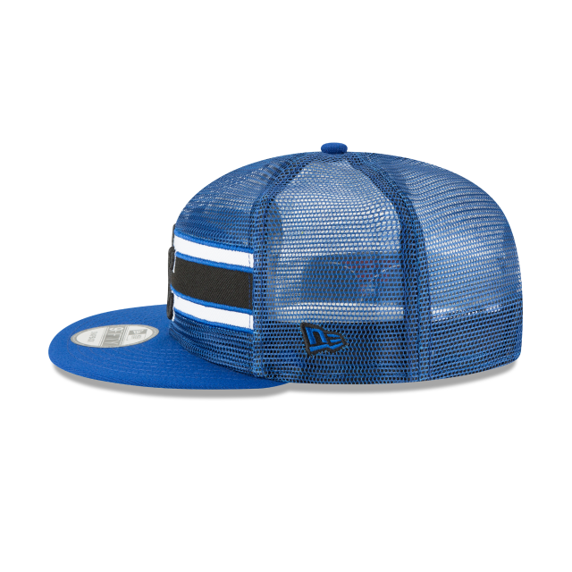 KANSAS CITY ROYALS MESH FRONTED 9FIFTY SNAPBACK Left side view
