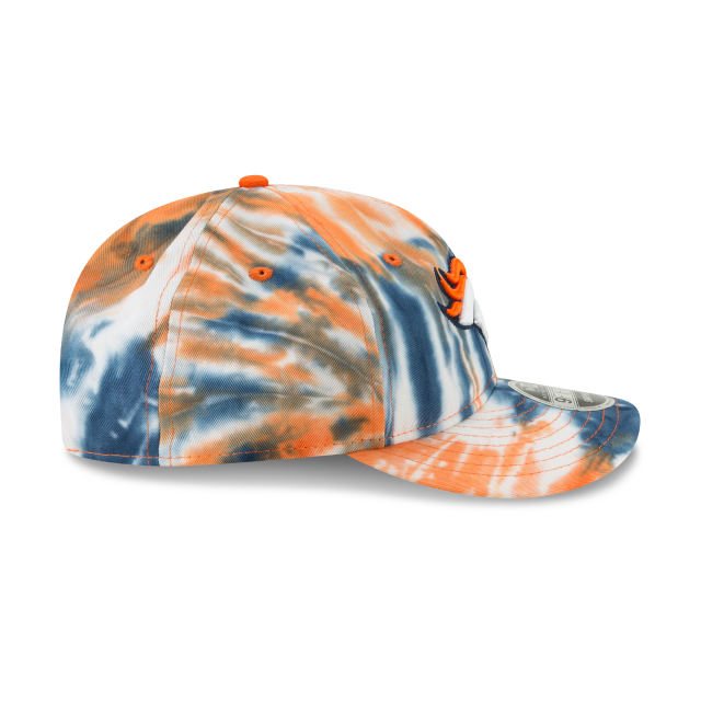 DENVER BRONCOS MARBLED RETRO CROWN 9FIFTY SNAPBACK Right side view