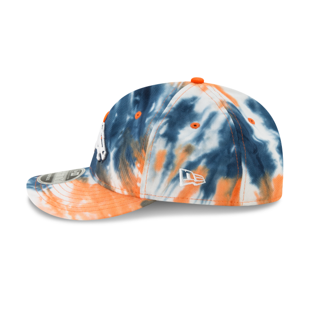 DENVER BRONCOS MARBLED RETRO CROWN 9FIFTY SNAPBACK Left side view