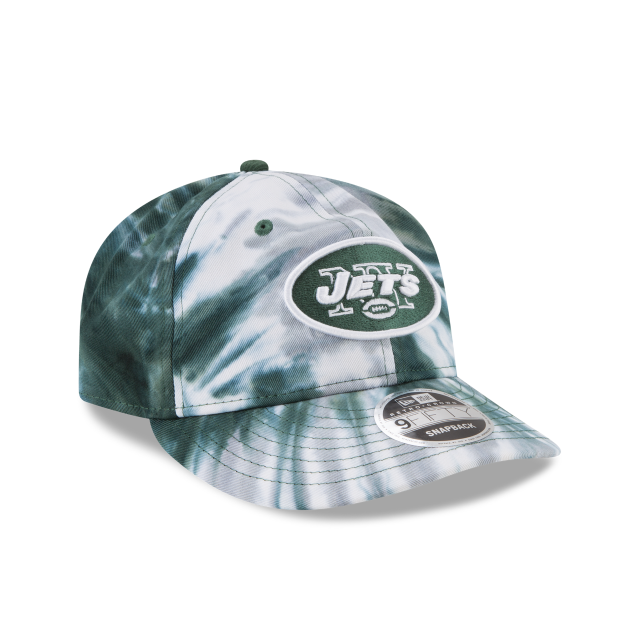 NEW YORK JETS MARBLED RETRO CROWN 9FIFTY SNAPBACK 3 quarter right view