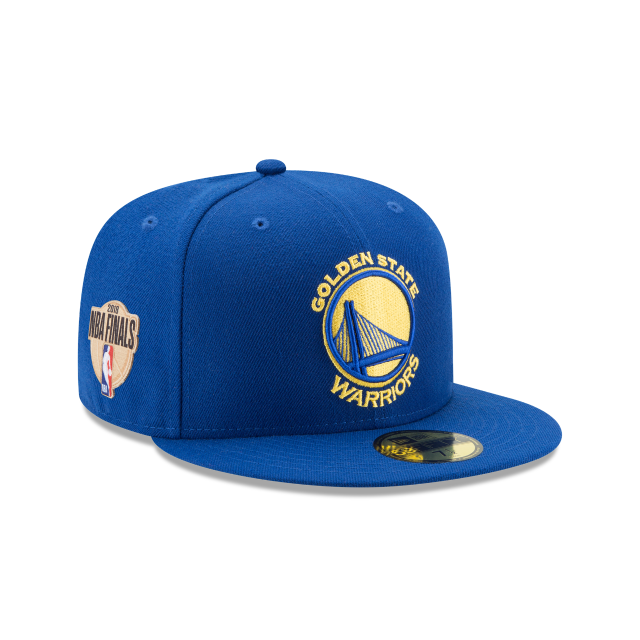 GOLDEN STATE WARRIORS NBA FINALS OTC 59FIFTY FITTED 3 quarter right view