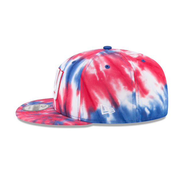 NEW YORK GIANTS MARBLED  9FIFTY SNAPBACK Left side view