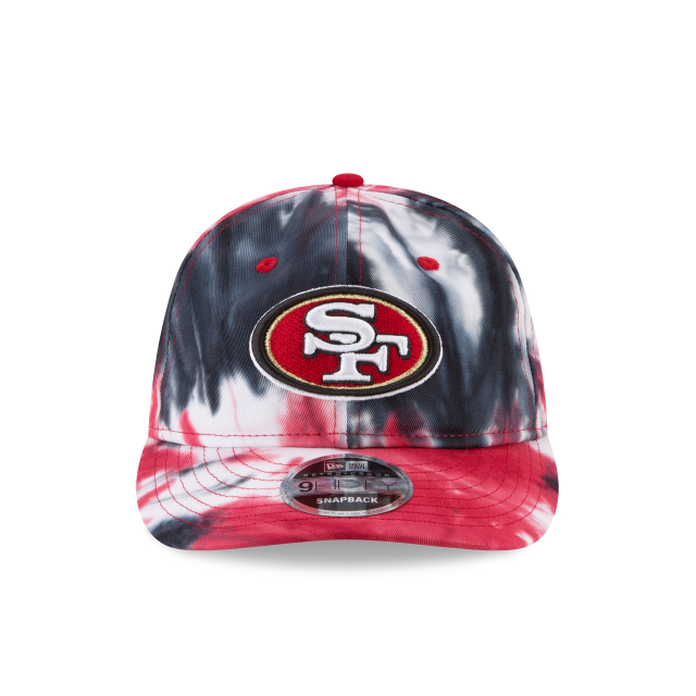 SAN FRANCISCO 49ERS MARBLED RETRO CROWN 9FIFTY SNAPBACK Front view