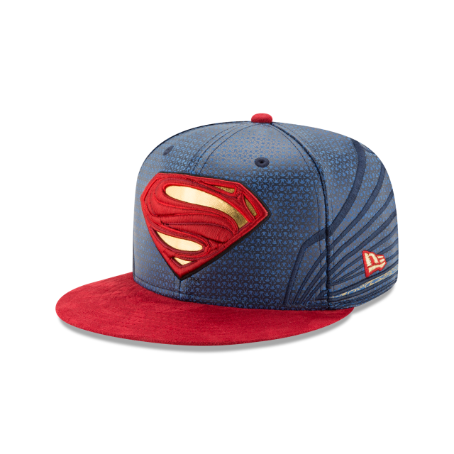 SUPERMAN JUSTICE LEAGUE 59FIFTY FITTED 3 quarter left view