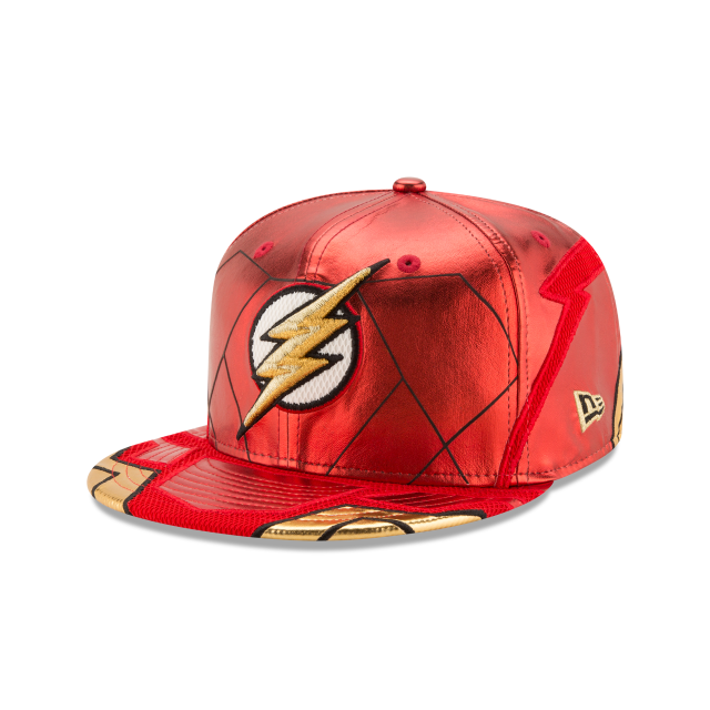 FLASH JUSTICE LEAGUE 59FIFTY FITTED 3 quarter left view