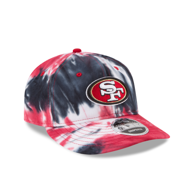 SAN FRANCISCO 49ERS MARBLED RETRO CROWN 9FIFTY SNAPBACK 3 quarter right view