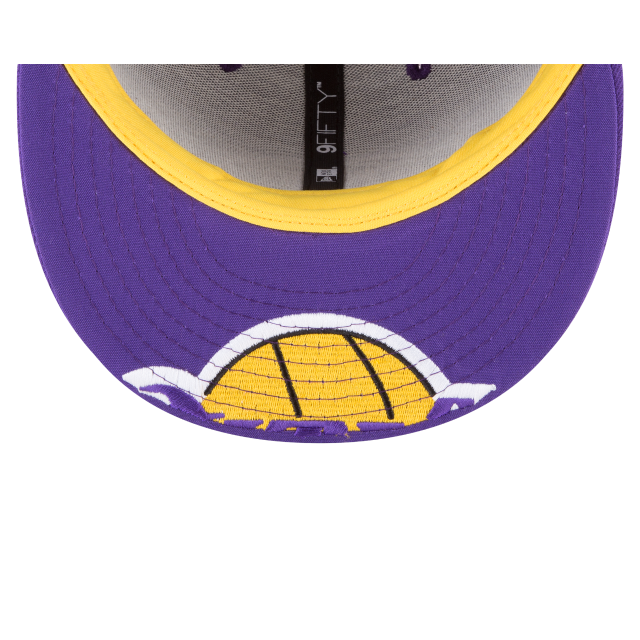 LOS ANGELES LAKERS Y2K BIG UNDER 9FIFTY SNAPBACK